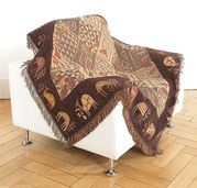 Blanket with African Motives