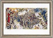 """Painting """"Exodus"""", 1964"""