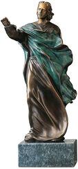 """Skulptur """"Der Heiler"""" (1997), Version in Kunstbronze"""