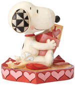 "Skulptur ""Puppy Love"""