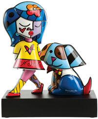 """Porcelain Sculpture """"Best Friend"""""""