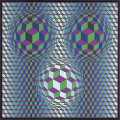 """Bild """"Bulus"""" (1979) (Unikat)"""