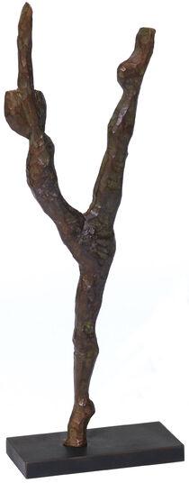"Alexander Heil: Skulptur ""Luftsprung"" (2014), Bronze"