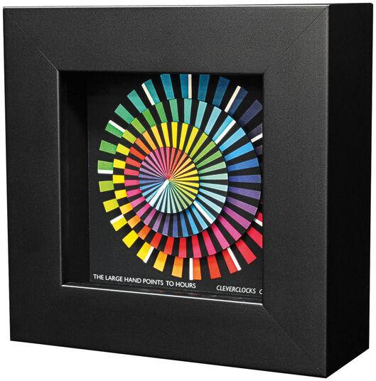 """Zeitkunst-Designuhr """"Spectrum"""", Version als Wanduhr"""