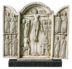 Triptychon Kreuzigung Christi