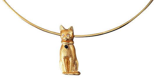 "Christiane Wendt: Necklace ""Goldbastet"""