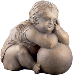 "Replica ""Cherub of the Fugger Chapel"" (around 1530), cast stone"