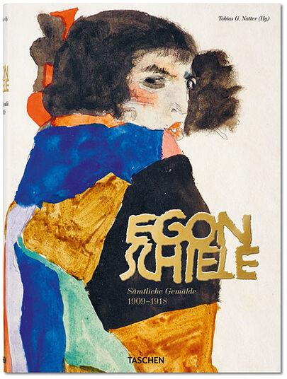 """Egon Schiele: Buchkatalog """"Sämtliche Gemälde"""" (1909-1918)"""