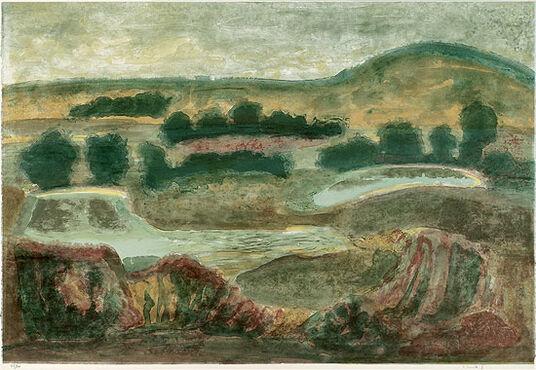 """Petra Brandt: Bild """"Irische Landschaft"""" (2006), ungerahmt"""