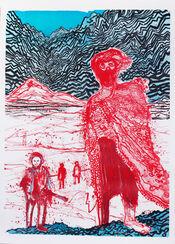 """Bild """"Begegnung im Hinterland"""" (2011)"""