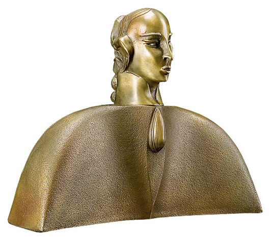 "Paul Wunderlich: Sculpture ""Mozart"", Bronze"