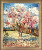 """Bild """"Blühender Pfirsichbaum"""" (1888), gerahmt"""