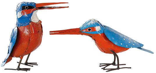 """Wilson Bhire: Gartenfiguren """"Eisvogelpaar"""""""