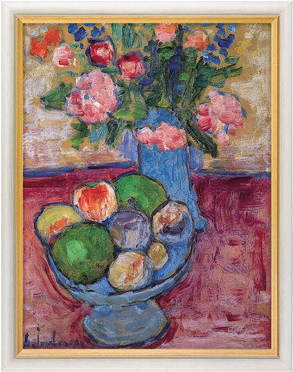 "Alexej von Jawlensky: Bild ""Die blaue Vase"", gerahmt"