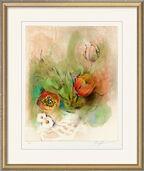 """Bild """"Tulpen"""" (2005), gerahmt"""
