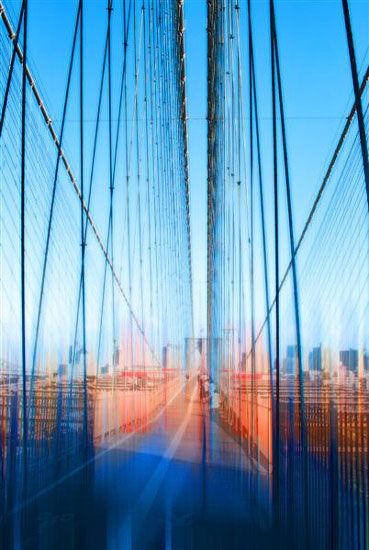 "Painting ""Brooklyn Bridge"" (2011)"
