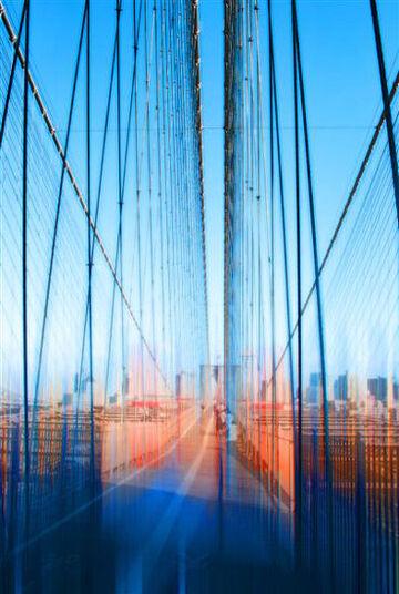 """Johannes Weinsheimer: Painting """"Brooklyn Bridge"""" (2011)"""