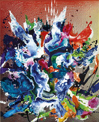 "Bild ""abstract III"" (2017) (Unikat)"