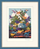"""Bild """"Afrika"""" (1996), gerahmt"""