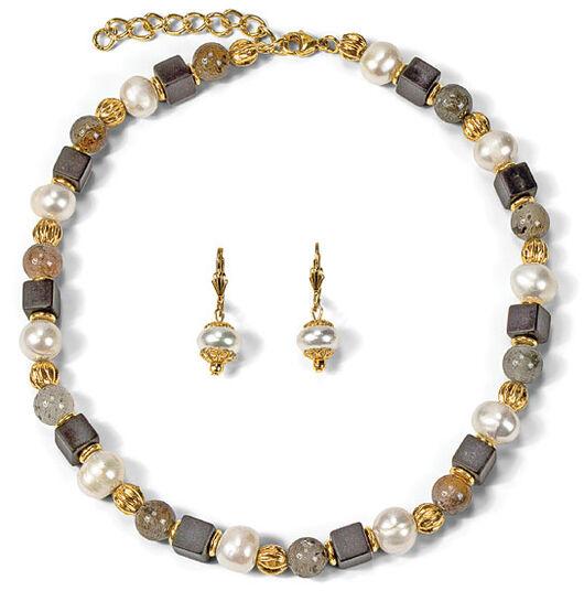 """Petra Waszak: Jewelry Set """"Queen Bee"""""""