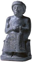 Statuette von Gudea