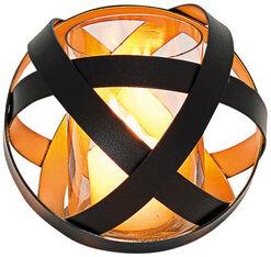 Glas-Windlicht (mittelgroße Version, Höhe 15 cm, Ø 14 cm)