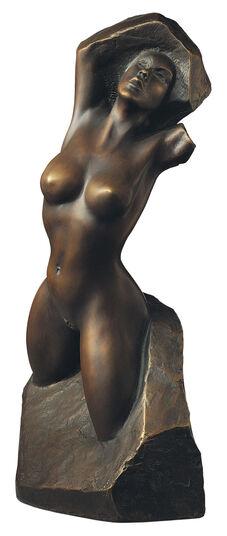 """Peter Hohberger: Sculpture """"Daphne"""", bronze"""
