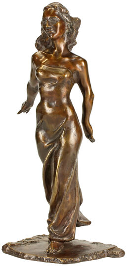 """Magnus Kleine-Tebbe: Skulptur """"Tänzerin"""", Version in Bronze"""