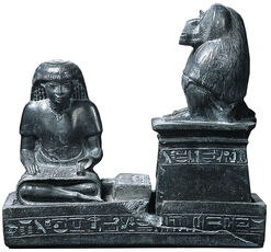 Scribe Nebmertuf Front of the God Thoth
