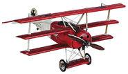 """Flugzeugmodell Dreidecker """"Der Rote Baron"""", Fokker Dr. I"""