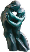 "Sculpture ""The Kiss"", Version in Bronze"