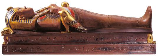 Mummy miniature of Tutankhamun