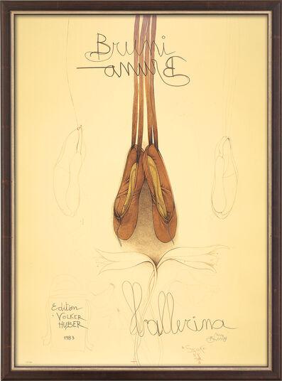"Bruno Bruni: Bild ""Ballerina"" (1983), gerahmt"
