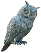 "Garden sculpture ""Long-eared Owl"" (Version without Column)"