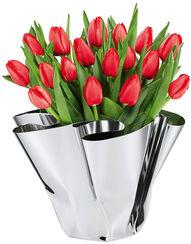 "Vase ""Margeaux"" (ohne Deko), Edelstahl"