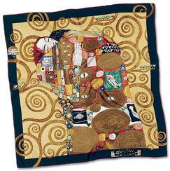 """Silk scarf """"Fulfilment"""", 1905-09"""