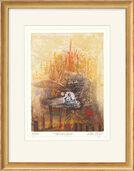 """Bild """"Troubadour"""" (2005), gerahmt"""