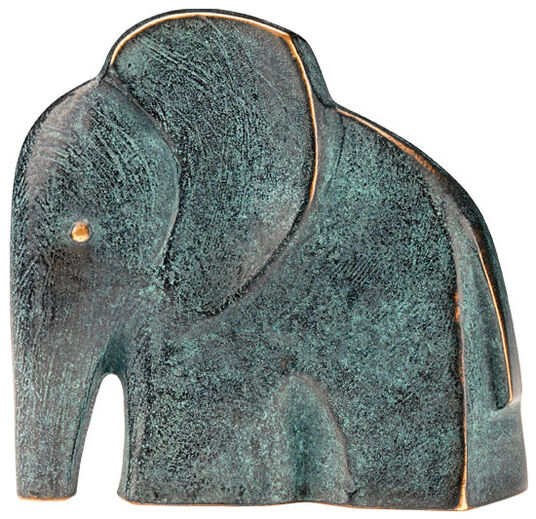 "Raimund Schmelter: Sculpture ""Elephant"", bronze"