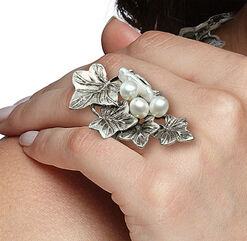 "Ring ""Efeuranken"""