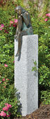 "Garden sculpture ""Emanuelle"" (Version with Stele)"