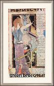 "Bild ""Merkblatt 1. galeri brockstedt"", gerahmt"