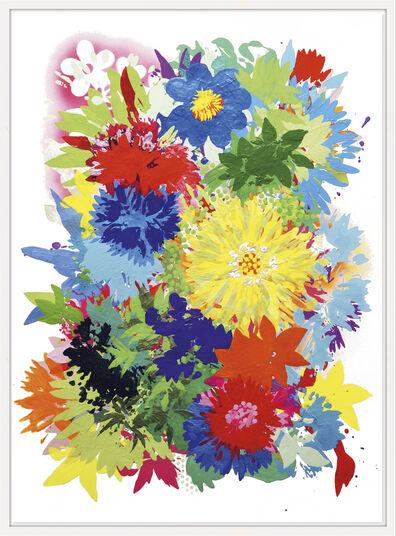 "Ulrike Bultmann: Bild ""Blossom Coloured"" (2013) (Unikat)"