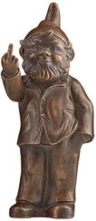 "Sculpture ""Sponti Dwarf"", Version Bronzed"