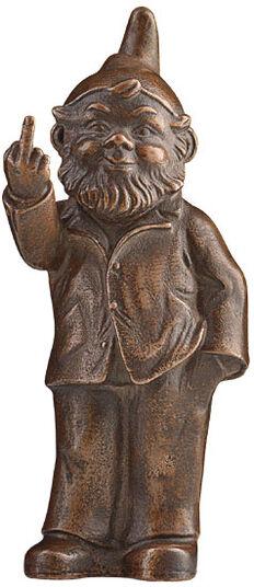 "Ottmar Hörl: Sculpture ""Sponti Dwarf"", Version Bronzed"