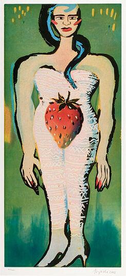 "Elvira Bach: Picture ""Strawberry Diva"""