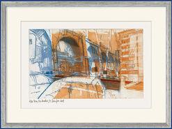 """Bild """"Rom, Via Aurelia"""" (2008), ungerahmt"""