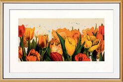 "Bild ""Tulpenmeer"", gerahmt"