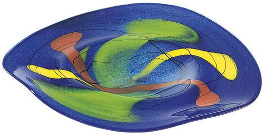 """Glass dish """"Azzurro"""""""