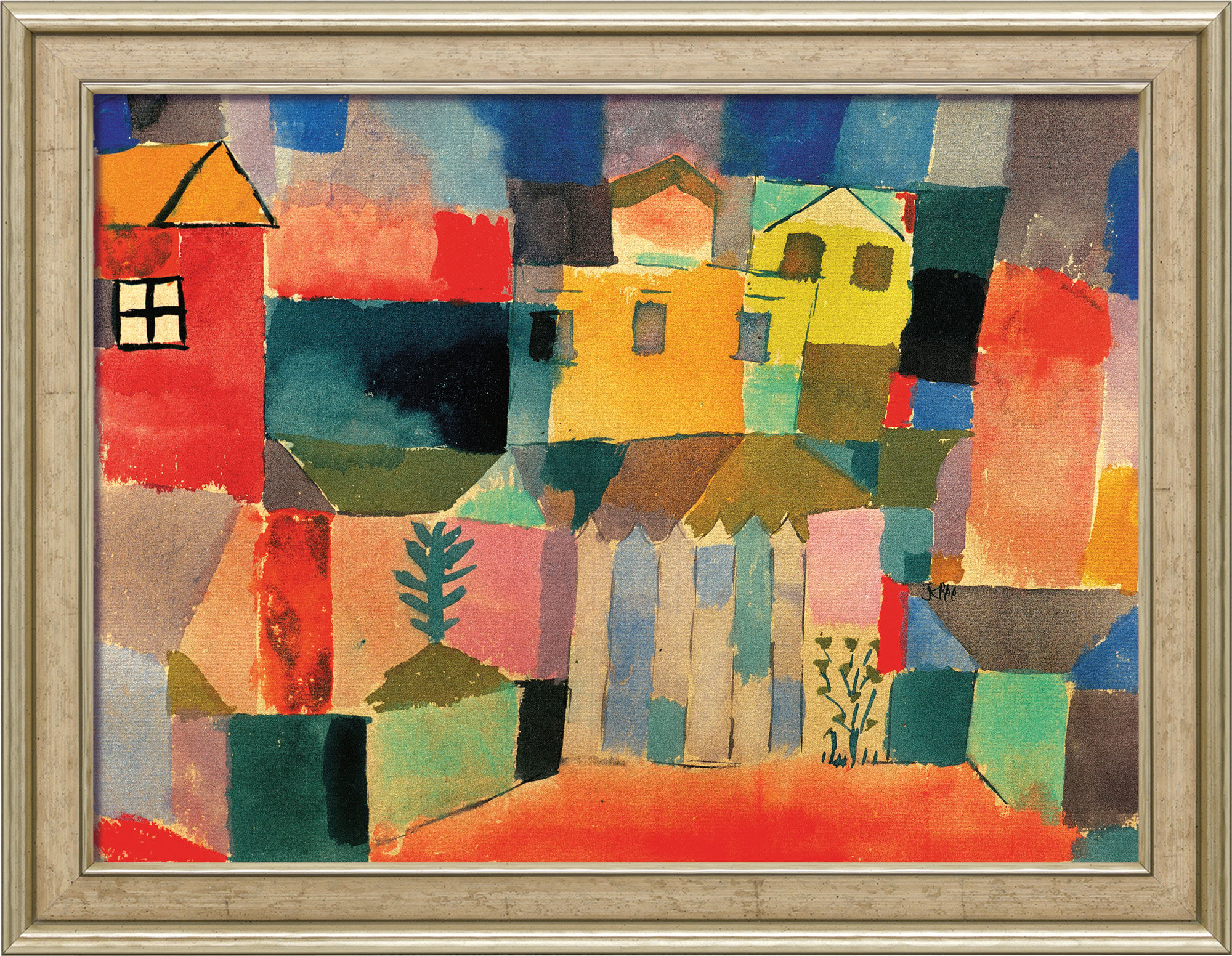 """Painting """"Houses on the Sea"""" 