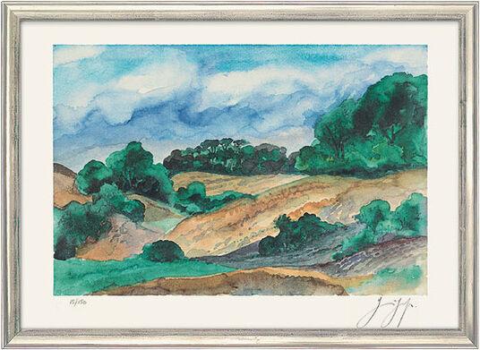"""Günter Grass: Picture """"Summery North"""" (2009)"""